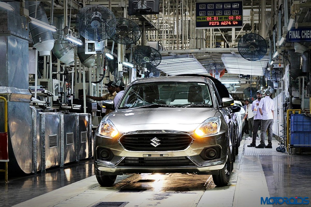 Maruti Suzuki Manesar plant Dzire production line (47)