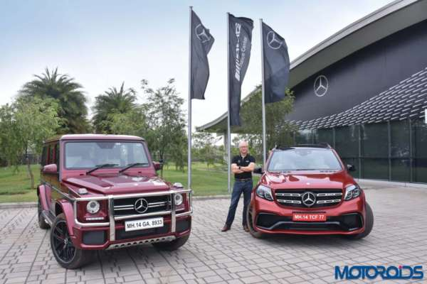 Mercedes-Benz G 63 AMG Edition 463 and GLS 63 AMG front profile