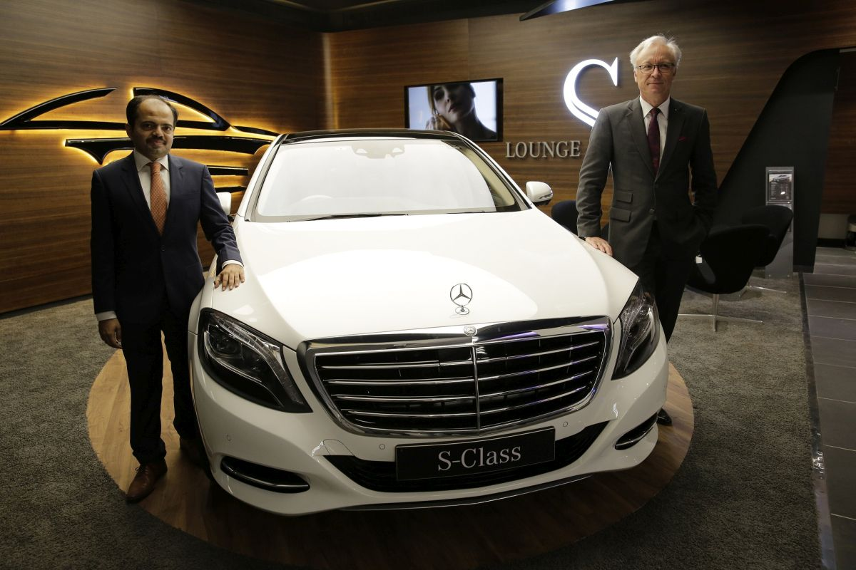 Mercedes benz inaugurates its largest showroom in mumbai for Biggest mercedes benz