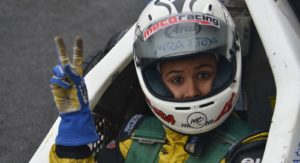 Meet Mira Erda, First Female Indian Driver To Participate In Euro JK Series
