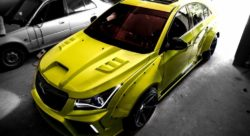 Modified Chevrolet Cruze Hyper-Wide