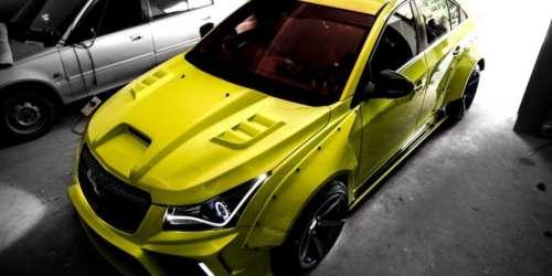 Modified Chevrolet Cruze Hyper-Wide
