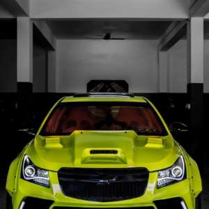 Modified Chevrolet Cruze Hyper-Wide front profile