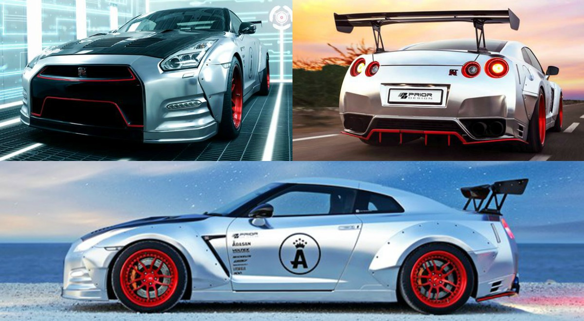 India S Wildest Nissan Gt R Gets Wrapped In Matte Silver