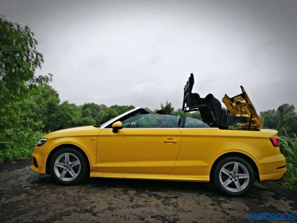new 2017 audi a3 cabriolet 1 4 tfsi review astute indulgence motoroids. Black Bedroom Furniture Sets. Home Design Ideas