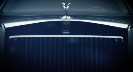 Next Generation Rolls Royce Phantom Teaser front frille