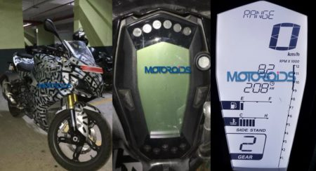 TVS Apache RR 310S Instrument Cluster Leaked Ahead Of Impending Launch