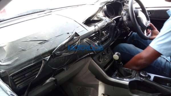 Tata Nexon Spied testing interiors