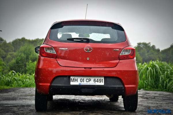 Tata Tiago AMT Rear Profile