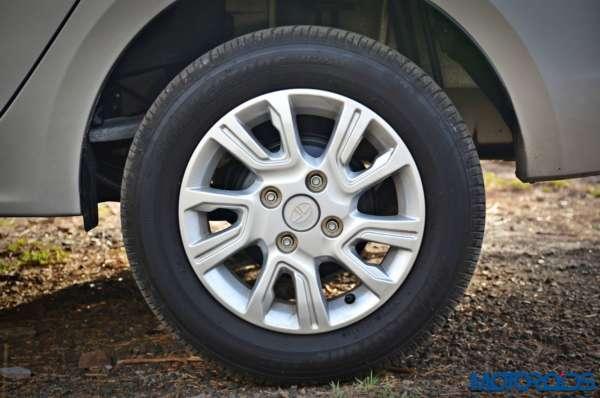 Tata Tigor alloy wheels