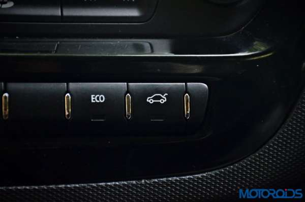 Tata Tigor boot release button