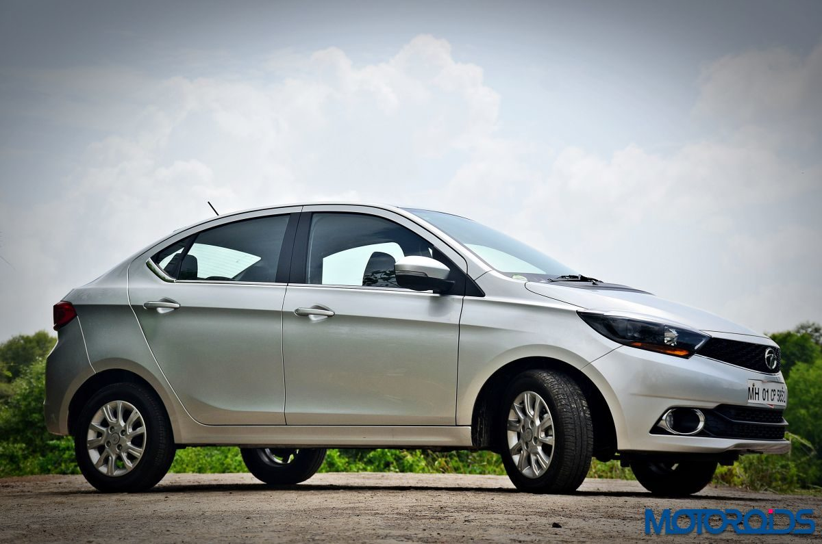 Tata Tigor front 3 quarter right