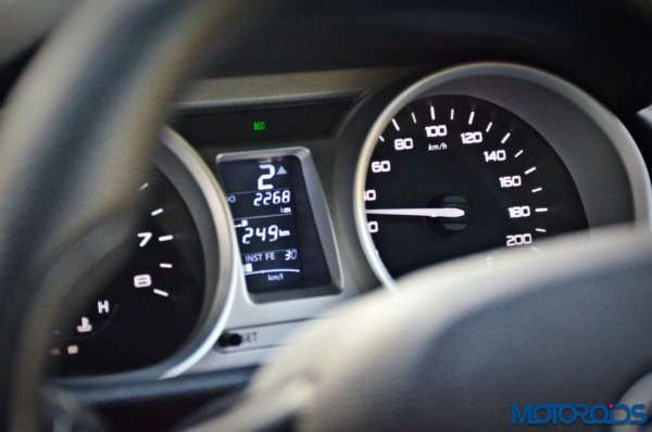 Tata Tigor gear shift indicator