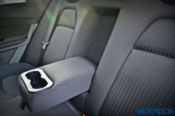 Tata Tigor second row arm rest with cup holders