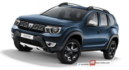 2018 Renault Duster Rendered Inside-Out