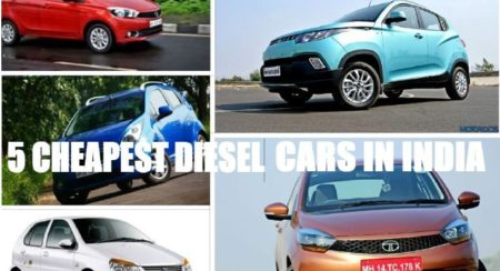 5 Cheapest Diesel cars you can buy in India