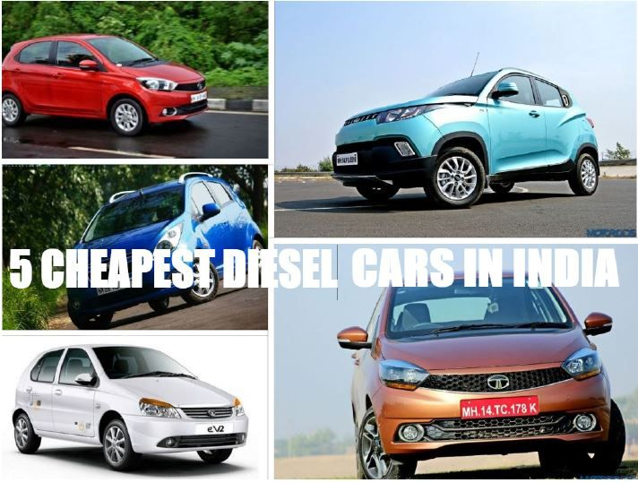 Cheap diesel car in india 2017