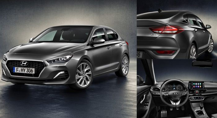 all new 2018 hyundai i30 fastback unveiled complete details images and tech specs motoroids. Black Bedroom Furniture Sets. Home Design Ideas