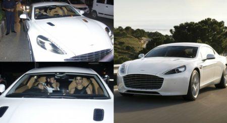 Aston Martin Rapide collage