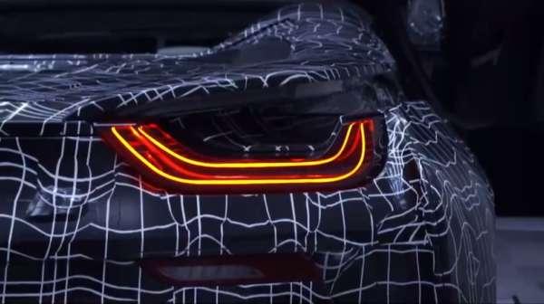 BMW i8 Roadster LED tail light