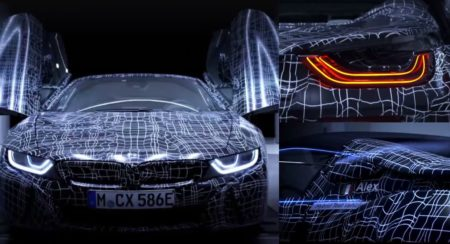 BMW i8 Roadster collage