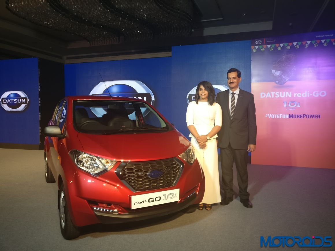 Datsun India launches more powerful redi-GO 1.0L