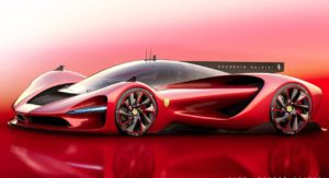 Astounding Unofficial Ferrari Scuderia Baldini Hypercar Rendered
