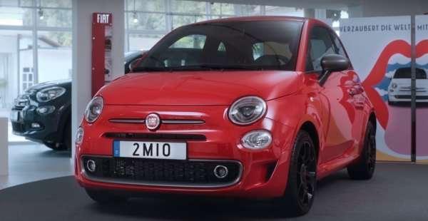 Fiat 500 2 millionth unit