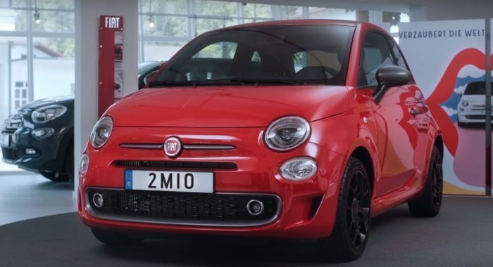 VIDEO: 2 Millionth Fiat 500 Delivered To Its Owner In Germany