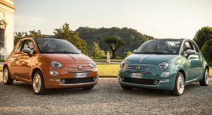 Fiat 500 60th Anniversary edition duo