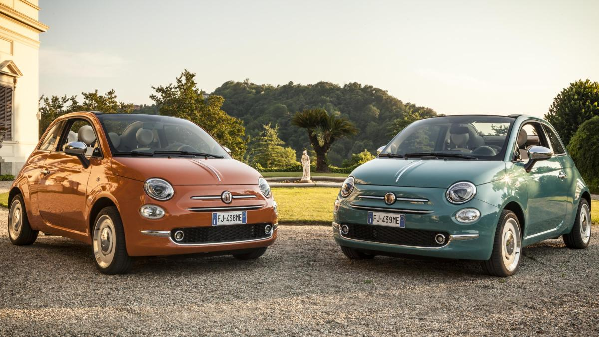 Fiat 500 Anniversario Edition Launched To Commemorate The Brand S 60th