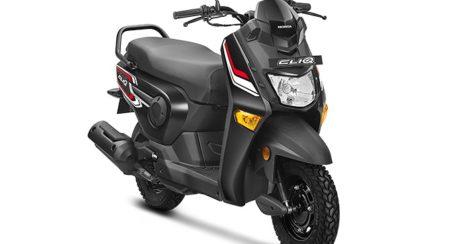 Honda cliq black