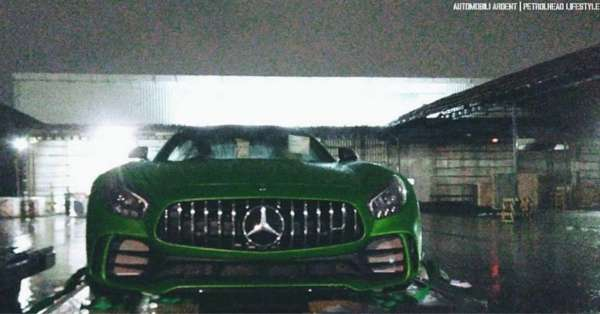 India's first Mercedes-Benz AMG GT-R front