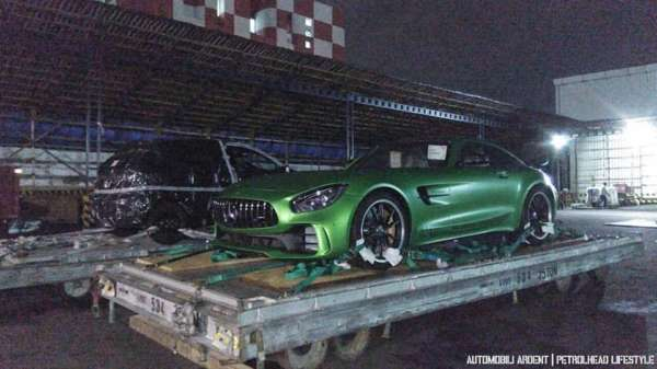 India's first Mercedes-Benz AMG GT-R side