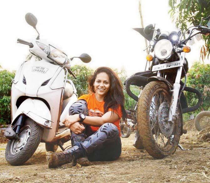 Jagruti-Hogale-bike
