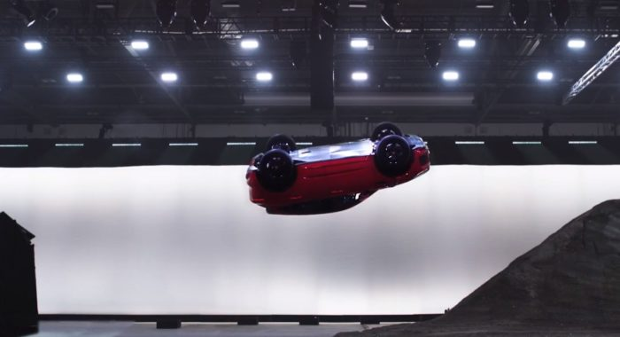 VIDEO: Jaguar E-Pace Barrel Rolls Its Way Spectacularly Into Record Books