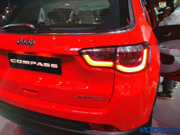 Jeep Compass launched in India LED tail lamp