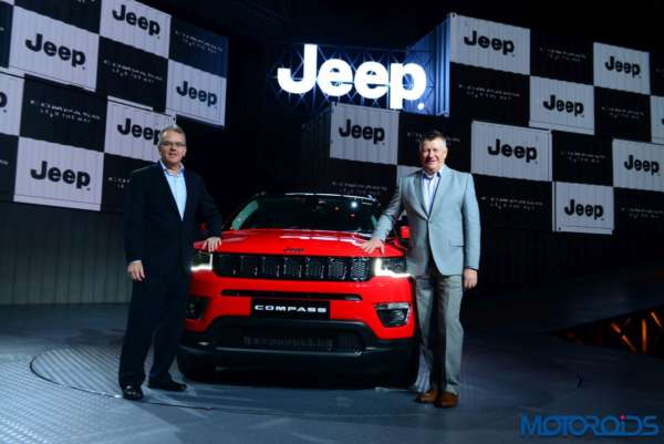 Jeep Compass launched in India official