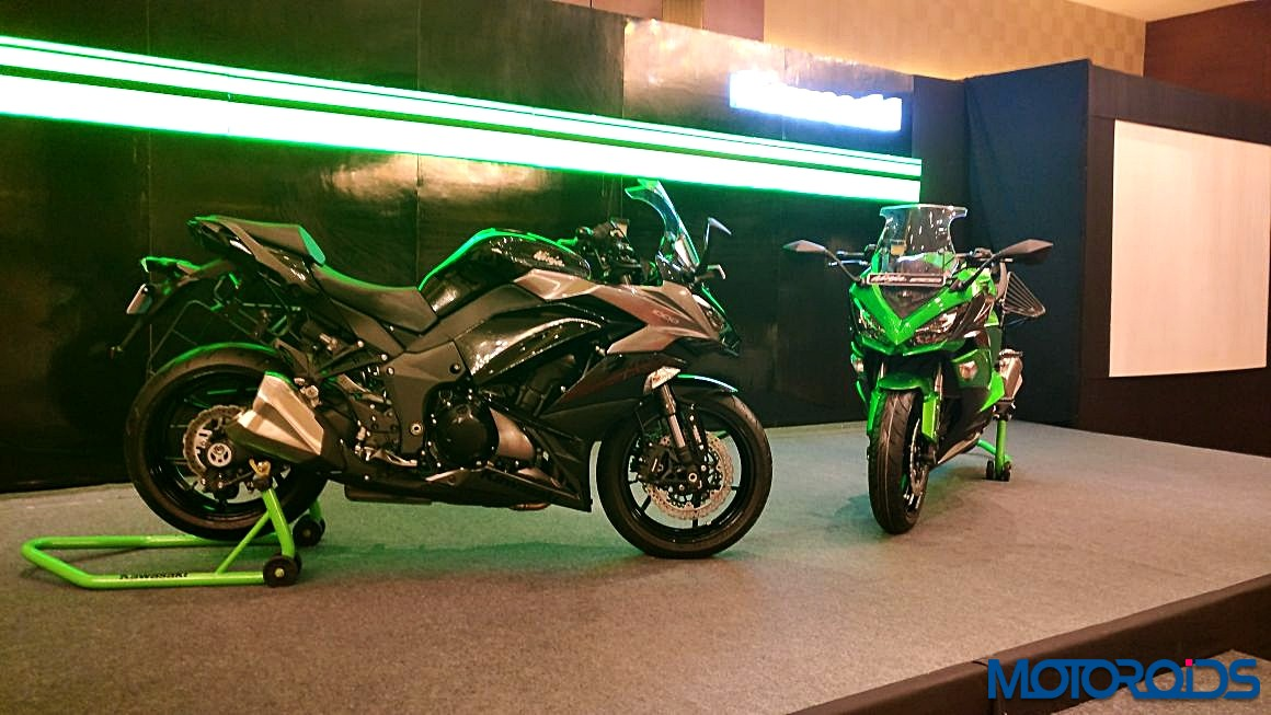 2017 Kawasaki Ninja 1000 And Z900 Sans Accessories Launched In India