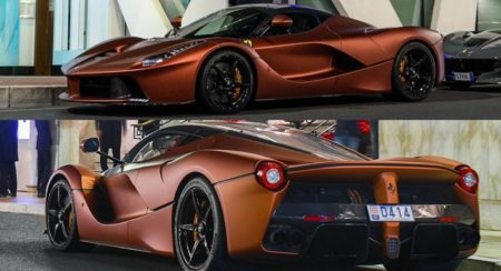 LaFerrari Collage
