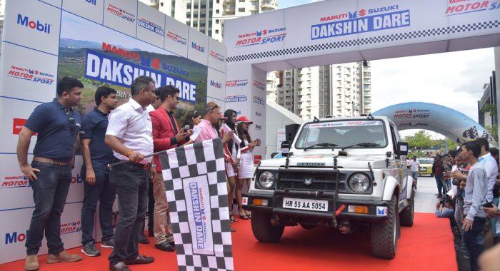 2017 Maruti Suzuki Dakshin Dare Kicks Off From Bengaluru