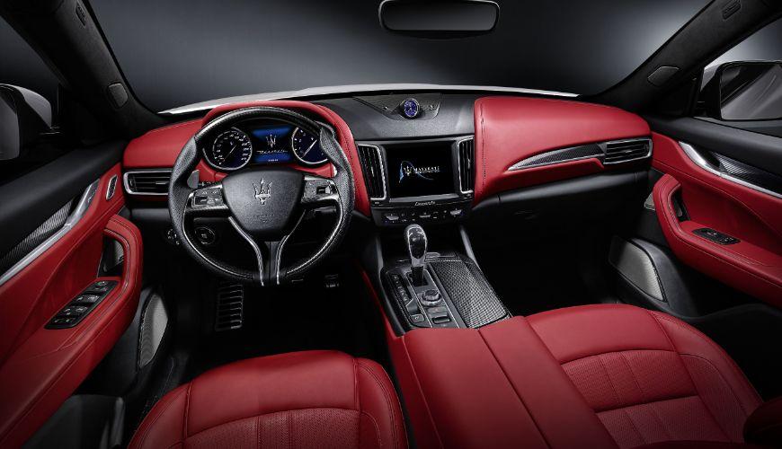 Maserati-Levante-Cabin-Red
