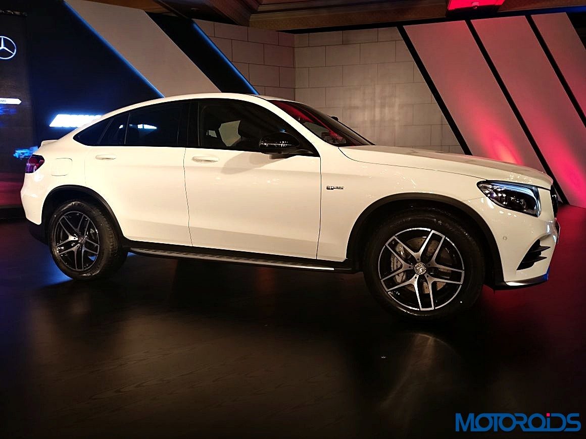 mercedes amg glc 43 4matic coup unveiled at amg performance center in mumbai motoroids. Black Bedroom Furniture Sets. Home Design Ideas