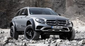 Bonkers Mercedes-Benz E-Class All-Terrain 4×4 Squared Gets Portal Axles From The G500