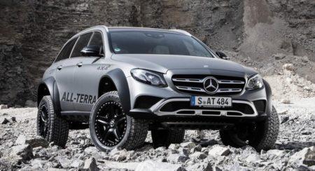 Mercedes-Benz E-Class All-Terrain 4x4 Squared Revealed 01