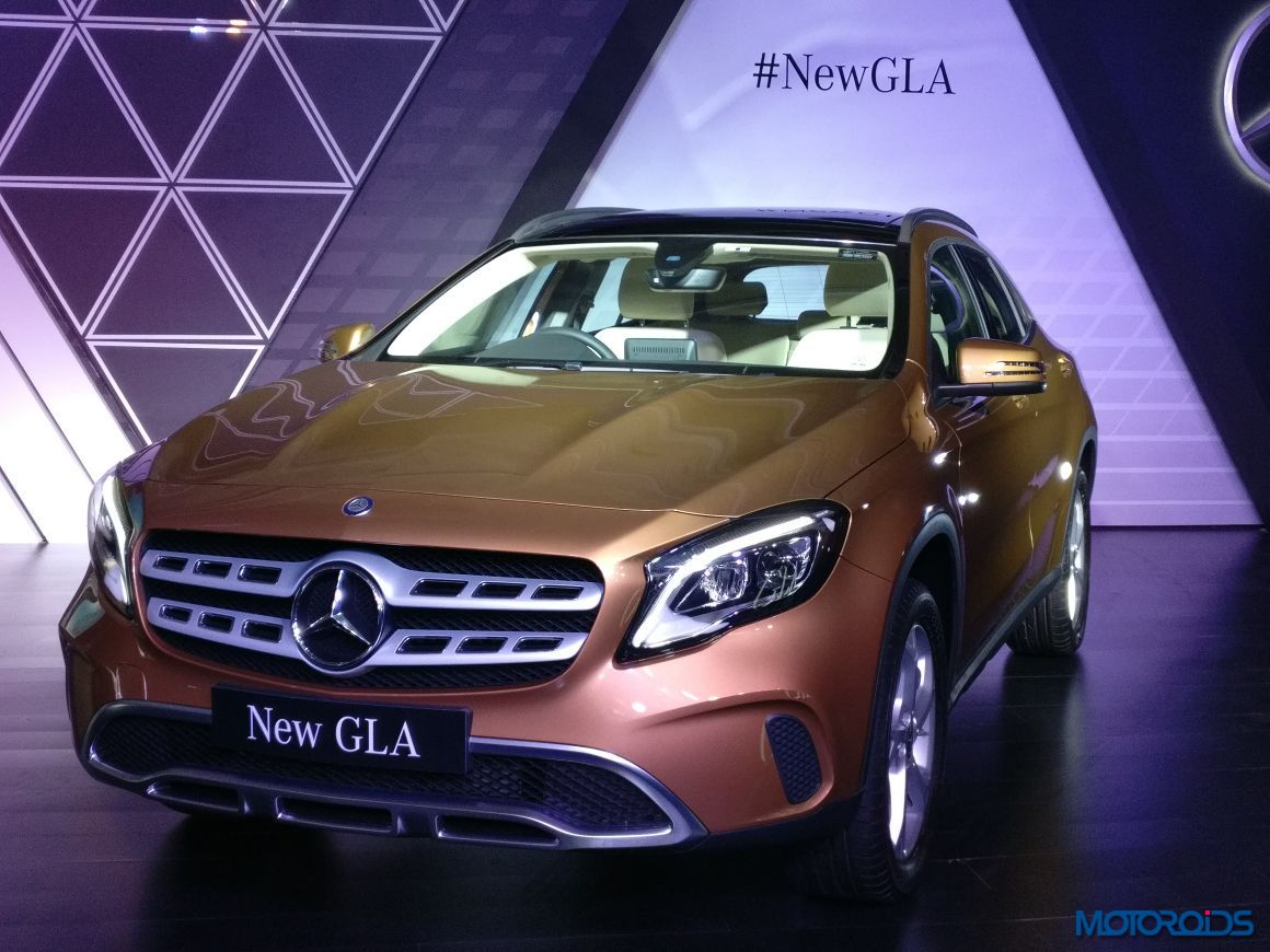 Live new mercedes benz gla facelift india launch details for New mercedes benz gla