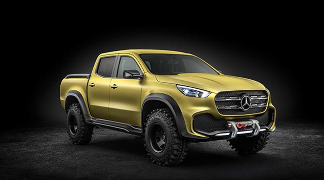 Mercedes-Benz X-Class bakkie teased