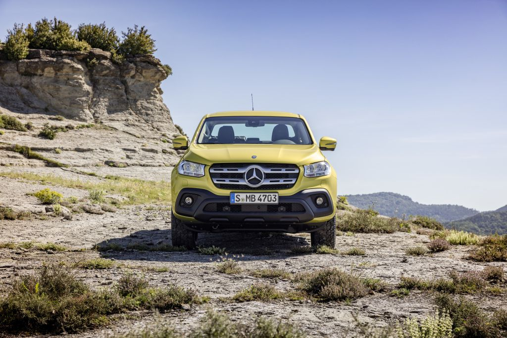 Massive Mercedes-Benz X-Class Pickup Revealed: Images