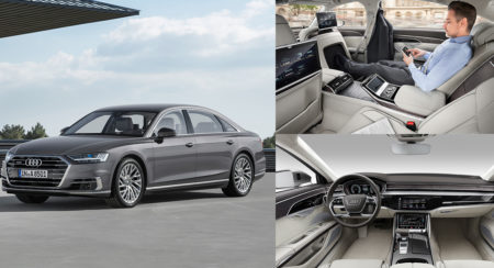 New 2018 Audi A8 L Unveiled - Feature Image