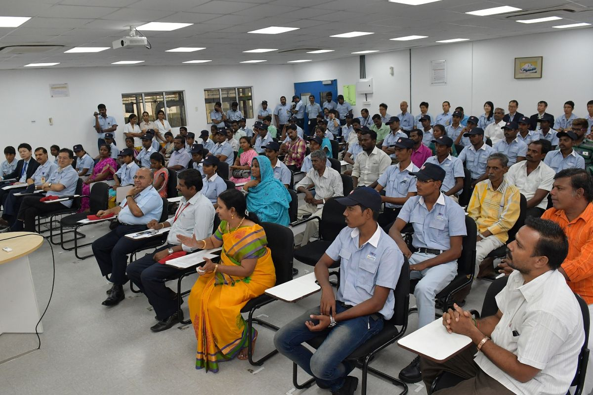 Yamaha Opens First Japan-India Institute Of Manufacturing In Chennai